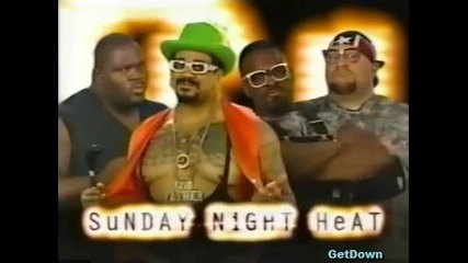 The Godfather & Mark Henry w/ Mae Young vs. Dudley Boyz - Wwf Heat 19.12.1999