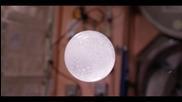 Експеримент с вода и разтворима таблетка на Международната космическа станция