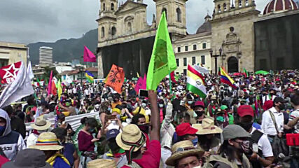 Colombia: Thousands assemble in Bogota to demand greater security for indigenous