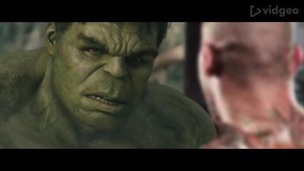 Randy Orton напада героите от Marvel