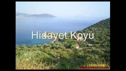 Antalya Kas - Gorulmesi gereken yerler