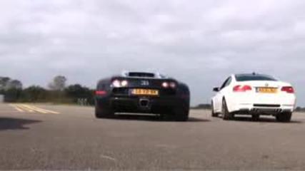 Bugati Veyron vs Bmw