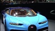 Суперавтомобил Bugatti Chiron: Световна премиера 2016 Geneva Motor Show
