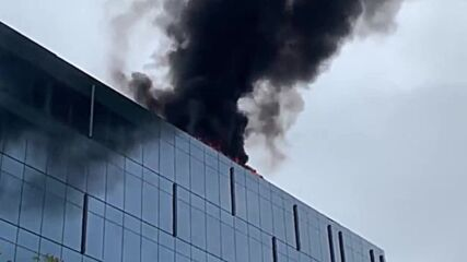 USA: Future metro headquarters catches fire near US Capitol