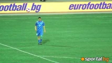 Гаджев бе бурно аплодиран при завръщането си от Сектор Б