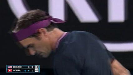 Roger Federer vs Steve Johnson - Extended Highlights R1 Australian Open 2020