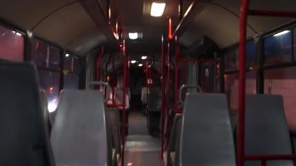 Кратко возене в автобус Mercedes-benz O345 по линия 285.