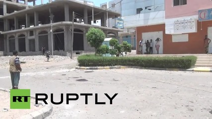 Yemen: Battle for Aden rages as Saudi-led airstrikes hit city