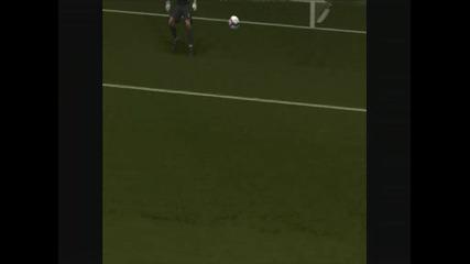 Cristiano Ronaldo Goal - Pes 2009