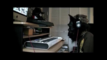 Noodles Making Hard Scary Hip Hop beat part 2 {rap} instrumental