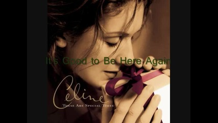 Celine Dion - The Magic of Christmas Day ( God Bless Us Everyone)