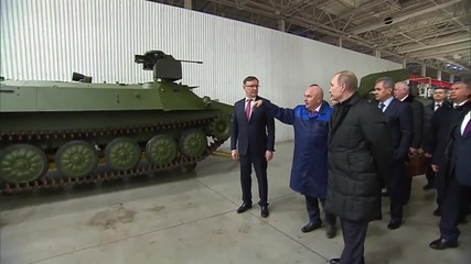 Russia: Putin tours Kamaz factory on company's 40th anniversary