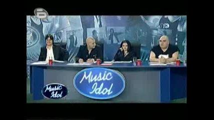 Music Idol 3 Пловдив - Учителка по информатика с трагичен английски
