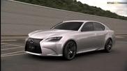 Lexus показа хибрид Lf - Gh Concept Sport Sedan