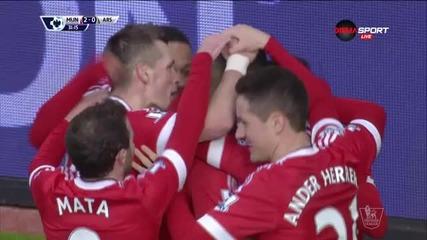 Рашфорд натъжи Арсенал за втори път