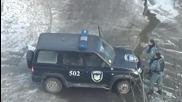 Инцидент с джип на Беркут - специални полицейски части в Украйна