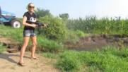 kris shooting Ar15 in water