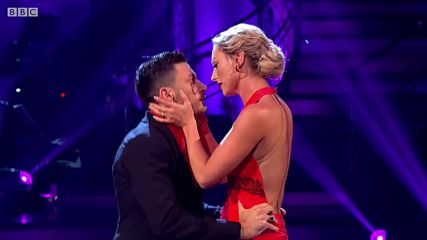 Faye Tozer and Giovanni Pernice Viennese Waltz to Its A Mans World by Seal