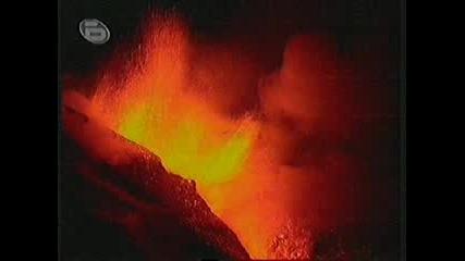 Вулканът Етна В Европа