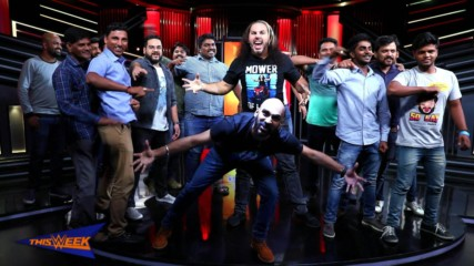 Culture, cuisine and coffee highlight Matt Hardy's first trip to India