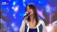 """Детелина Бунтова и песента й """" Je T'aime """" в България търси талант"""