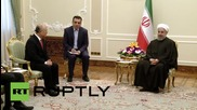 Iran: IAEA chief meets with Rouhani to discuss nuclear Roadmap