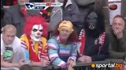 Манчестър Юнайтед 1 -- 6 Манчестър Сити