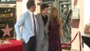 Джейсън Бейтман със звезда на Алеята на славата