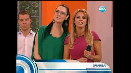 Анелия при Съпругите Nova Tv