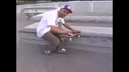 Skateboarding Tricks - Frontside Noseslide - Skateboarding Tricks - Frontside Noseslide Fakie