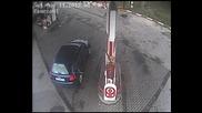 "Жена ""шофьор"" на бензиностанция"