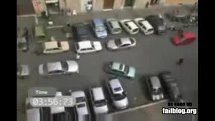 Жена Не Може Да Паркира (смях)