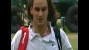 Wimbledon 2001 : Федерер - Сампрас + коментар на Бьорн Борг