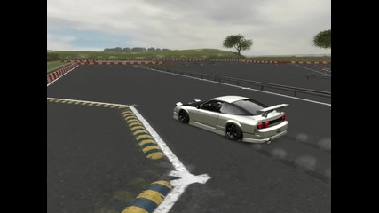 Live For Speed - Drifting with Nissan 240sx