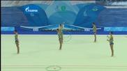 България - бухалки и обръчи - финал - Световна купа Казан 2015