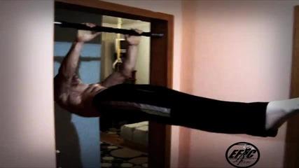 Как се тренира вкъщи - Предна везна с набирания - Пламен Пейков