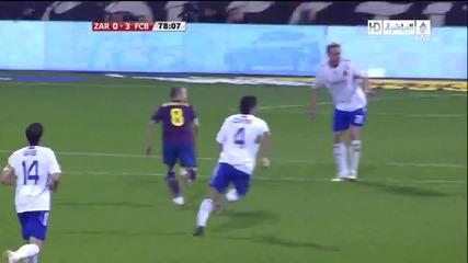 Zaragoza 0 - 3 Fcb (messi)