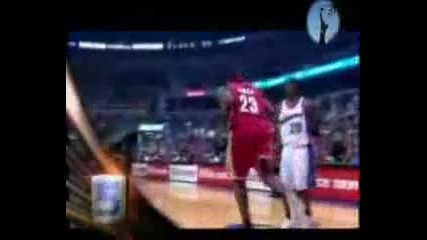 Top 10 Dunks Performed by Lebron James.