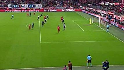 Байерн ( Мюнхен ) 2 - 1 Атлетико ( Мадрид ) 3.05.2016