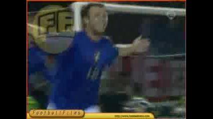 България - Италия 1:2 Гол На Cassano
