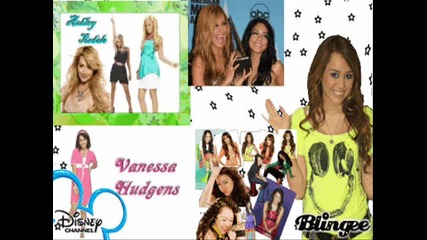 Miley, Selena, Demi, Jonas Brothers - Sent it on