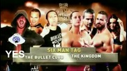The Kingdom vs. Bullet Club - Roh Best In The World 2015 Highlights Hd