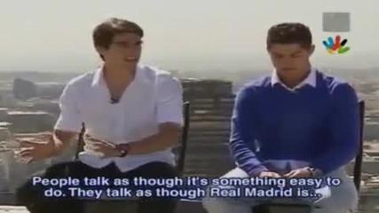 Cristiano Ronaldo, Kaka, Benzema - Exclusive 2009