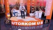 Sinisa Markovic - Maca - Utorkom u 8 - (tvdmsat 2015) - Prevod