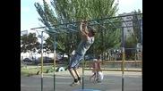 Denis Minin Най-големия изверг на Street fitnes
