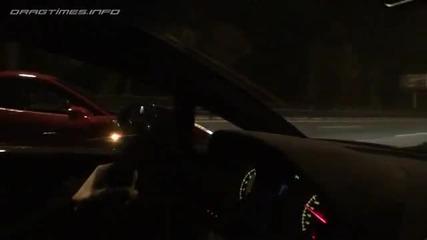 Улична гонка:ferrari 458 Italia vs Lamborghini Gallardo Superleggera