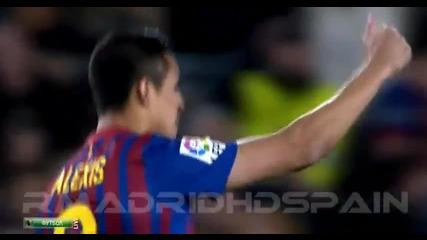 Барселона 1-2 Реал Мадрид Ла Лига 21.04.2012