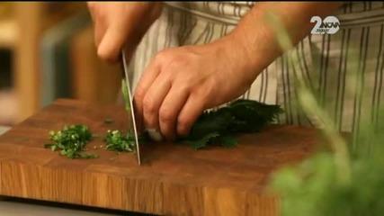 Банички с броколи и лепкав кейк - Бон Апети (03.11.2014)