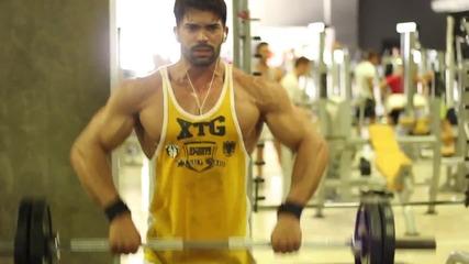 Sergi constance,shoulder training.(мотивация за тренировка)