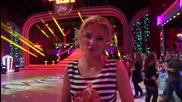 Dancing Stars - Ирина Тенчева подкрепя Нели и Наско (10.04.2014г.)